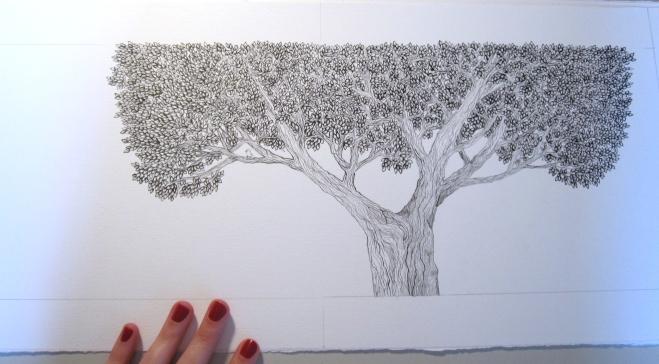 Passarinha - ilustração de miolo