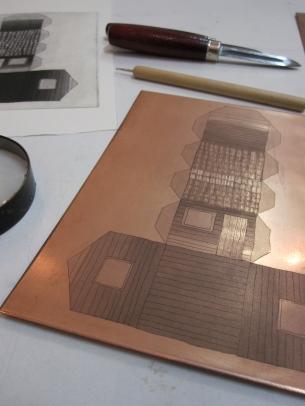 matriz e gravura