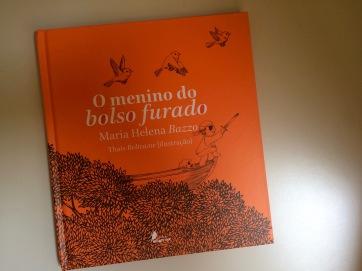 O Menino do Bolso Furado - Maria Helena Bazzo - Editora Passarinho