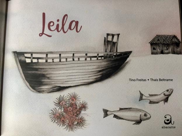 Leila, em parceria com Tino Freitas pela Editora Abacatte